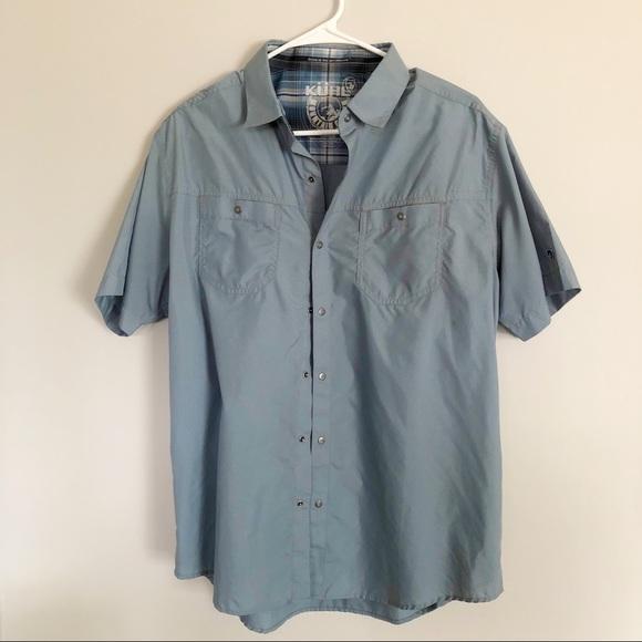 Kuhl men's stealth short sleeve tee shirt sz L